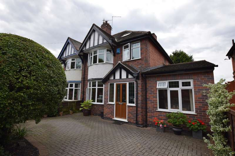 4 Bedrooms Semi Detached House for sale in Gipsy Lane, Leicester, LE5 0TA