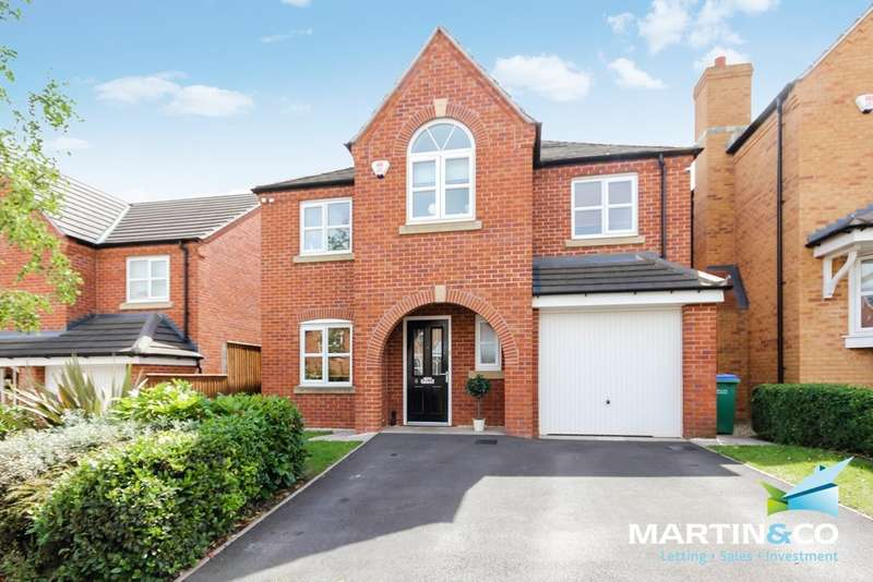 4 Bedrooms Detached House for sale in Ditta Drive, Oldbury, B69