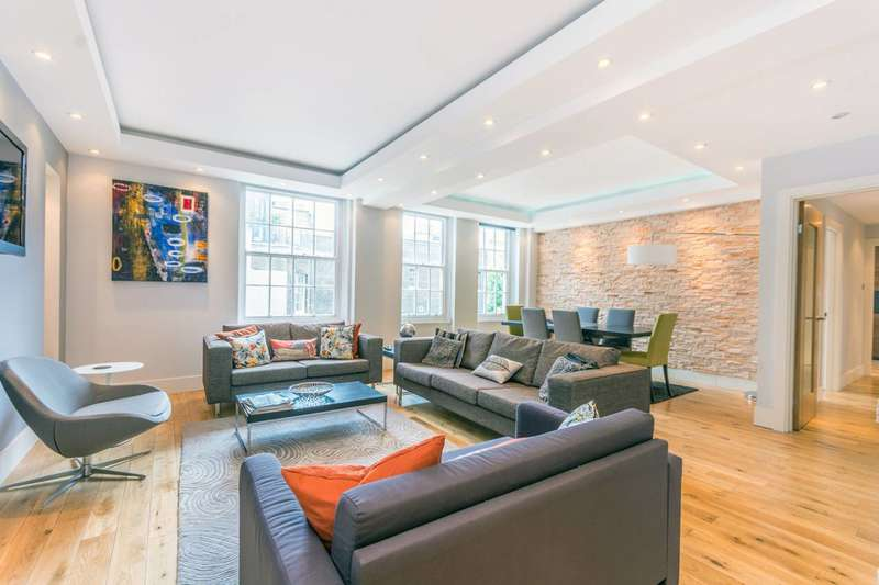 3 Bedrooms Flat for sale in Portman Square, Marylebone, W1H
