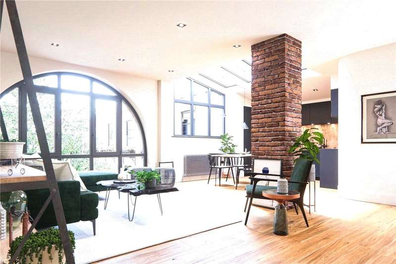 2 Bedrooms Flat for sale in Flat 22, 7 Old Town, Clapham, London, SW4