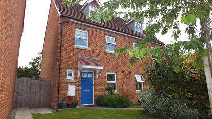 3 Bedrooms Semi Detached House for sale in The Orchards, Leyland, Lancashire