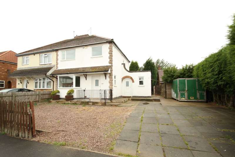 3 Bedrooms Semi Detached House for sale in Jacques Street, Ibstock