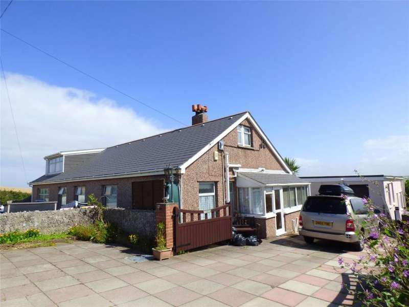 Detached Bungalow for sale in Gwythian Way, Perranporth, Cornwall