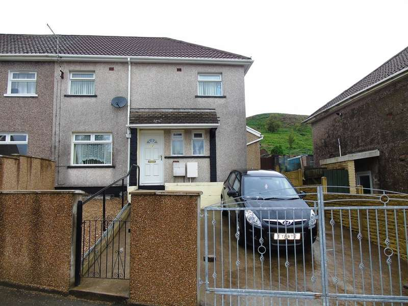 3 Bedrooms Semi Detached House for sale in Pen Darren, Porth