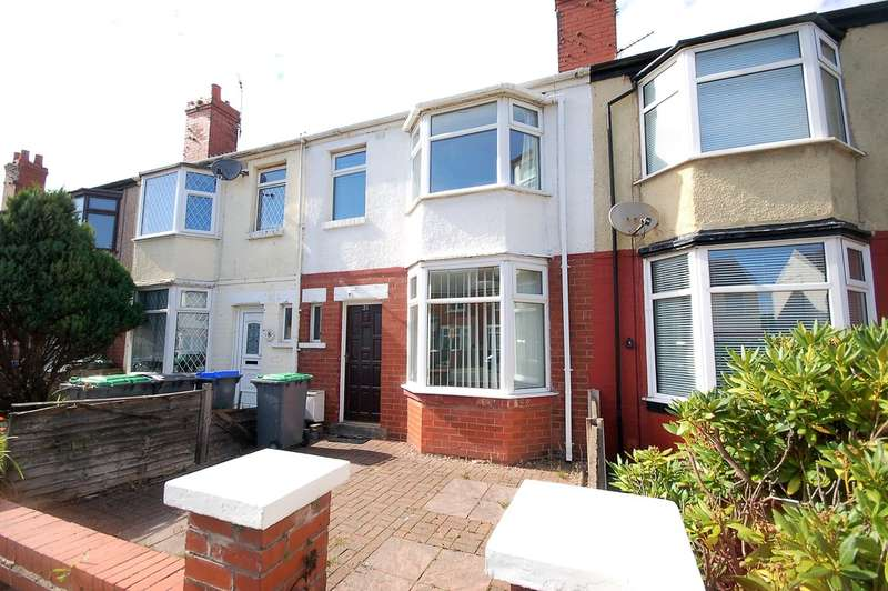 3 Bedrooms Terraced House for sale in Endsleigh Gardens, Blackpool