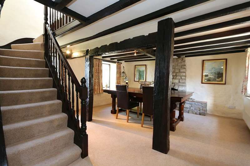 4 Bedrooms Detached House for sale in Clawddnewydd, Ruthin, Denbighshire, LL15 2NF