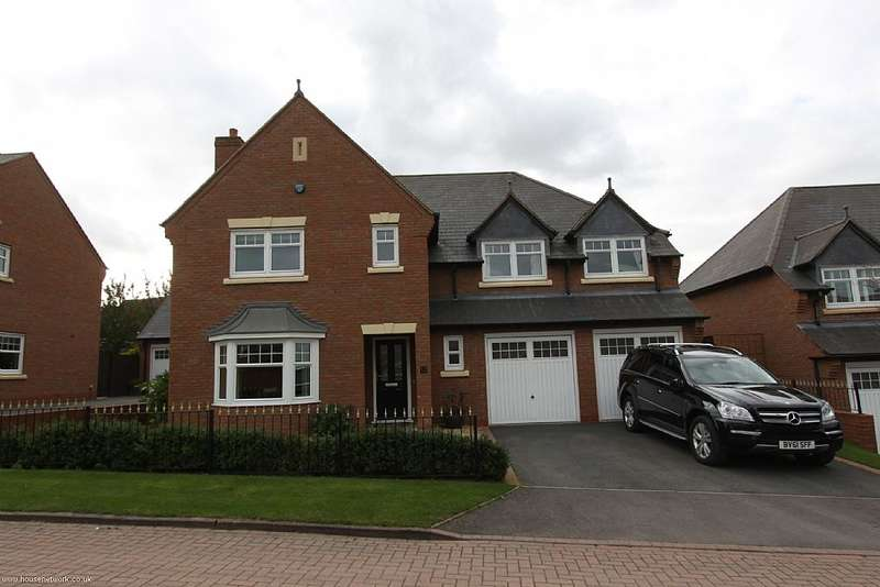 5 Bedrooms Detached House for sale in 12, Dalefield Drive, Admaston, Telford, Shropshire, Tf5 0dp