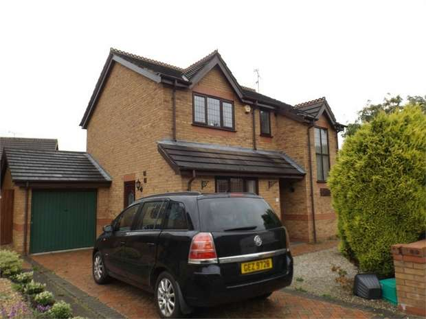 3 Bedrooms Detached House for sale in Heritage Gardens, Bersham, Wrexham