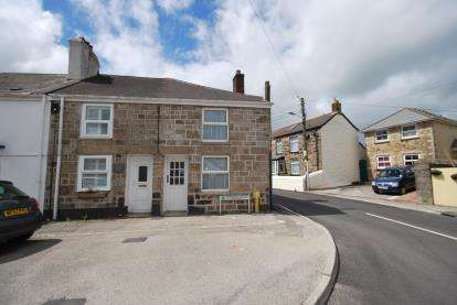 2 Bedrooms End Of Terrace House for sale in St. Day, Redruth, Cornwall