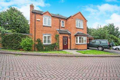 4 Bedrooms Detached House for sale in The Elms, Whitwick, Coalville, .