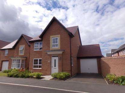 4 Bedrooms Detached House for sale in Baneberry Way, Stenson Fields, Derby, Derbyshire