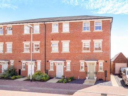 4 Bedrooms End Of Terrace House for sale in Kestrel Grove, Hucknall, Nottingham, Nottinghamshire