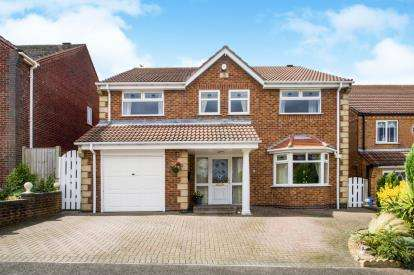 4 Bedrooms Detached House for sale in High Ridge, Forest Town, Mansfield, Nottinghamshire