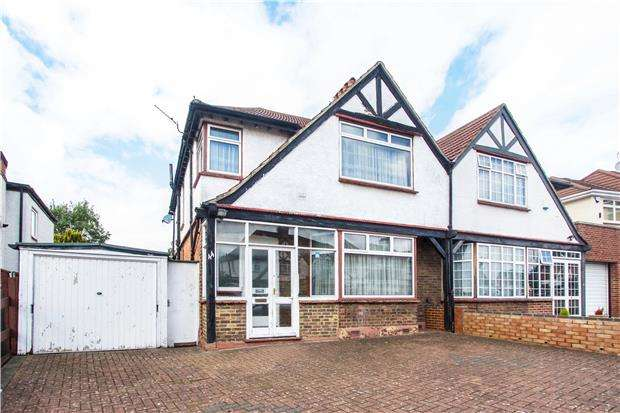 3 Bedrooms Semi Detached House for sale in Redhill Drive, EDGWARE, Middlesex, HA8 5JN