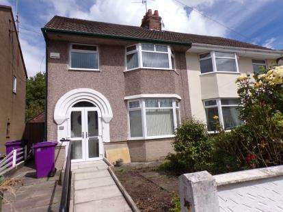 3 Bedrooms Semi Detached House for sale in Cranford Road, Liverpool, Merseyside, L19