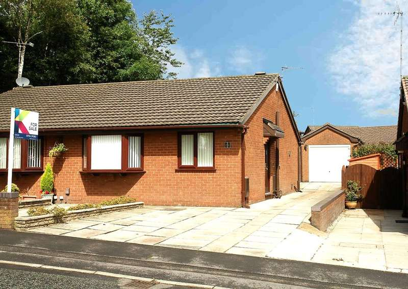 2 Bedrooms Semi Detached Bungalow for sale in 26 Salts Street, Shaw