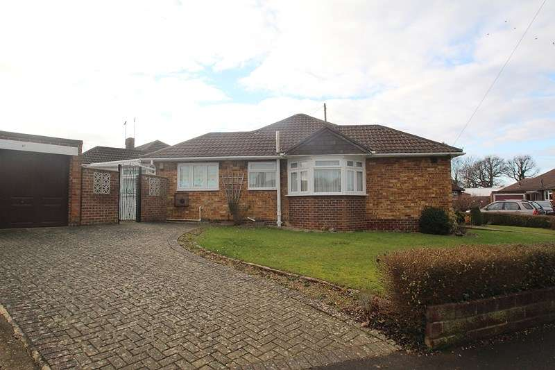 3 Bedrooms Detached Bungalow for sale in Meadowbank Road, Fareham
