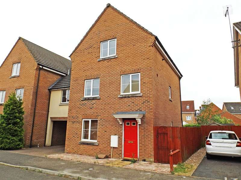 4 Bedrooms Link Detached House for sale in Bay Walk, Downham Market, Norfolk, PE38