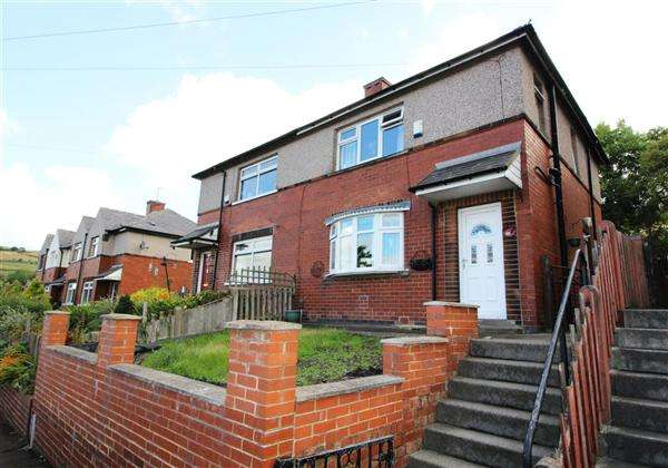 3 Bedrooms Semi Detached House for sale in Backhold Drive, Siddal, Halifax