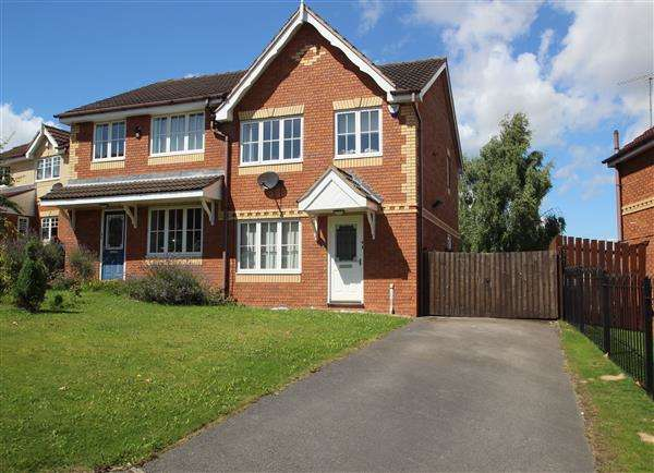 3 Bedrooms Semi Detached House for sale in Park Crest, Hemsworth
