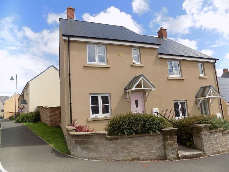 3 Bedrooms Semi Detached House for sale in Ffordd Y Grug , Coity, Bridgend. CF35 6BQ