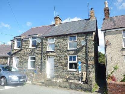 2 Bedrooms Semi Detached House for sale in Ty Engan, Chwilog, Pwllheli, Gwynedd, LL53