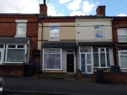 3 Bedrooms Terraced House for sale in Frances Road, Birmingham, West Midlands