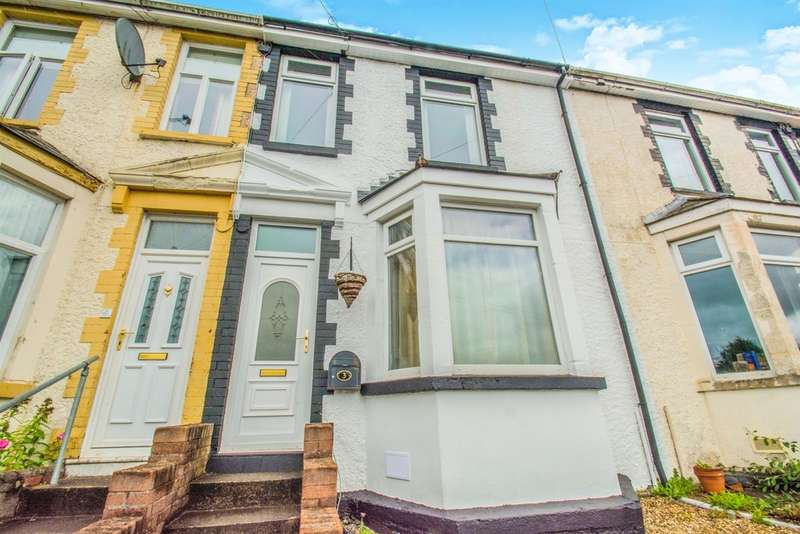 3 Bedrooms Terraced House for sale in Glanddu Road, Fleur De Lis, Blackwood