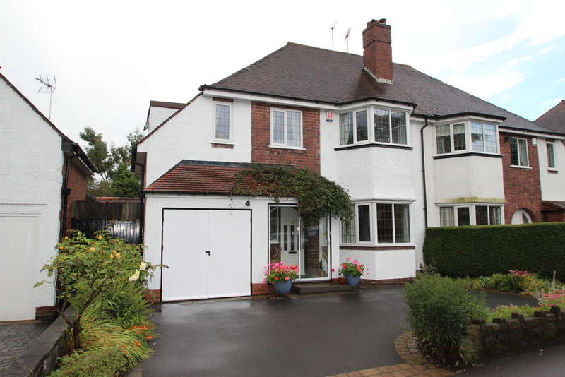 4 Bedrooms Semi Detached House for sale in Court Oak Road, Harborne