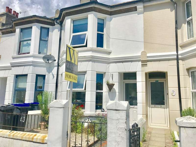 2 Bedrooms Terraced House for sale in Becket Road, Worthing, West Sussex, BN14 7EY