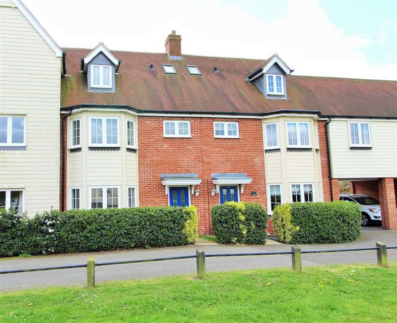 4 Bedrooms Town House for sale in Weyland Drive, Stanway, Colchester