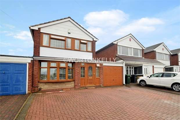 4 Bedrooms Detached House for sale in Lemox Road, WEST BROMWICH, West Midlands
