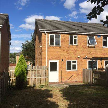 2 Bedrooms Semi Detached House for sale in Horse Bank Drive, Lockwood, Huddersfield, West Yorkshire