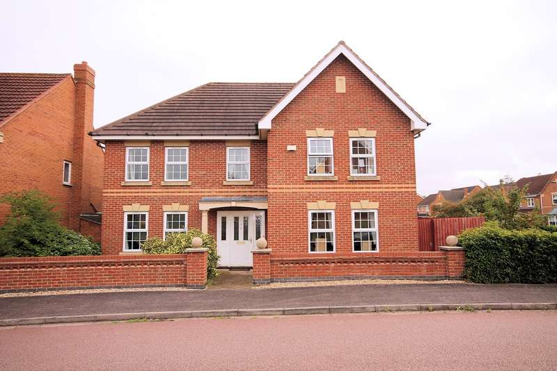 5 Bedrooms Detached House for sale in Bayham Close, Abbeyfields, Elstow, MK42