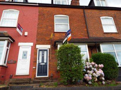 4 Bedrooms Terraced House for sale in Harborne Lane, Selly Oak, Birmingham, West Midlands