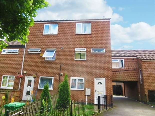 4 Bedrooms End Of Terrace House for sale in Randal Gardens, Nottingham