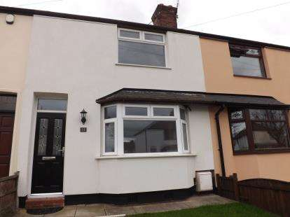 2 Bedrooms Terraced House for sale in West Avenue, Warrington, Cheshire