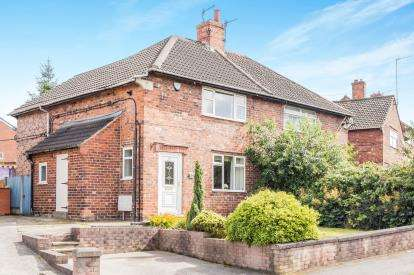 3 Bedrooms Semi Detached House for sale in Laurel Crescent, Hollingwood, Chesterfield, Derbyshire