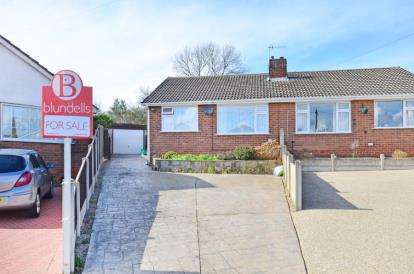 2 Bedrooms Bungalow for sale in Arnside Close, Chesterfield, Derbyshire