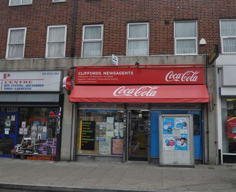 4 Bedrooms Shop Commercial for sale in Greenford Avenue, Hanwell, London, W7 1JH