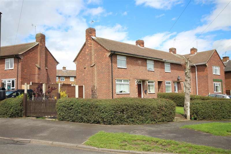 2 Bedrooms Terraced House for sale in Goodwood Crescent, Kirk Hallam