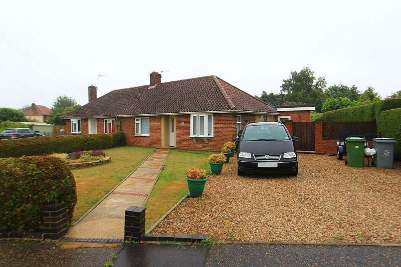 3 Bedrooms Semi Detached Bungalow for sale in Adams Road, Norwich, Norfolk, NR7 8QT