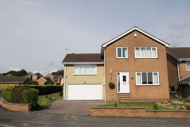 4 Bedrooms Detached House for sale in Ewden Way, Barnsley, South Yorkshire