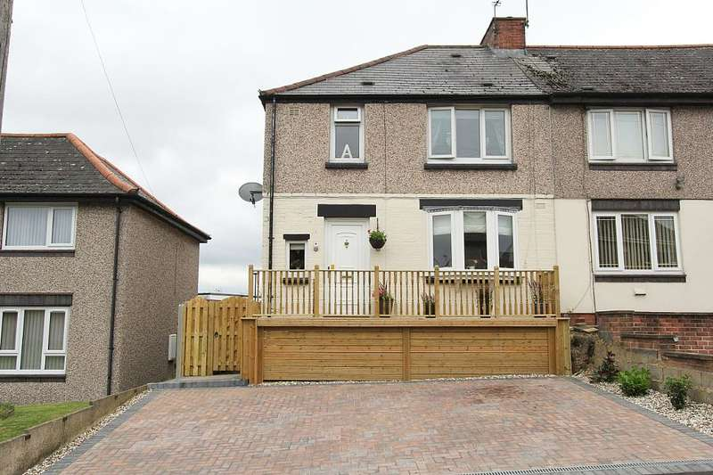 3 Bedrooms End Of Terrace House for sale in 17, Vickers Road, High Green, Sheffield, South Yorkshire, S35 4JY