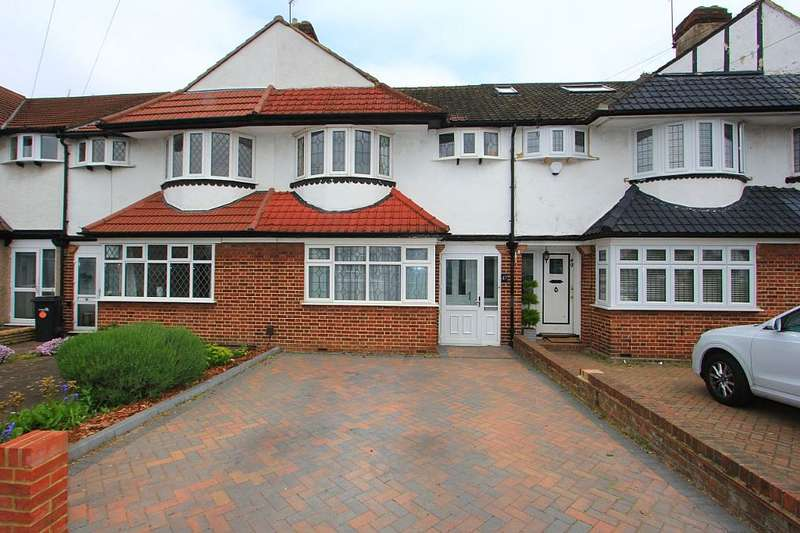 3 Bedrooms Terraced House for sale in Melbourne Way, Enfield, London, EN1 1XG