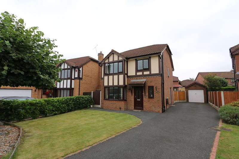 3 Bedrooms Detached House for sale in Patten Close, Hawarden, Deeside, Flintshire, CH5 3TH