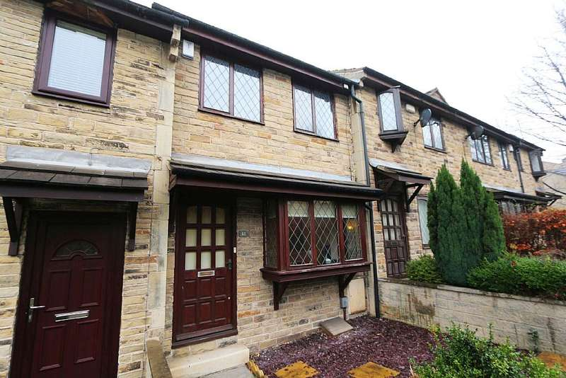 2 Bedrooms Town House for sale in The Combs, Thornhill, Dewsbury, West Yorkshire, WF12 0LQ