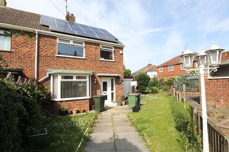 3 Bedrooms Semi Detached House for sale in 4, Co-Operative Close, Loftus, Saltburn-by-the-Sea, North Yorkshire, TS13 4RR
