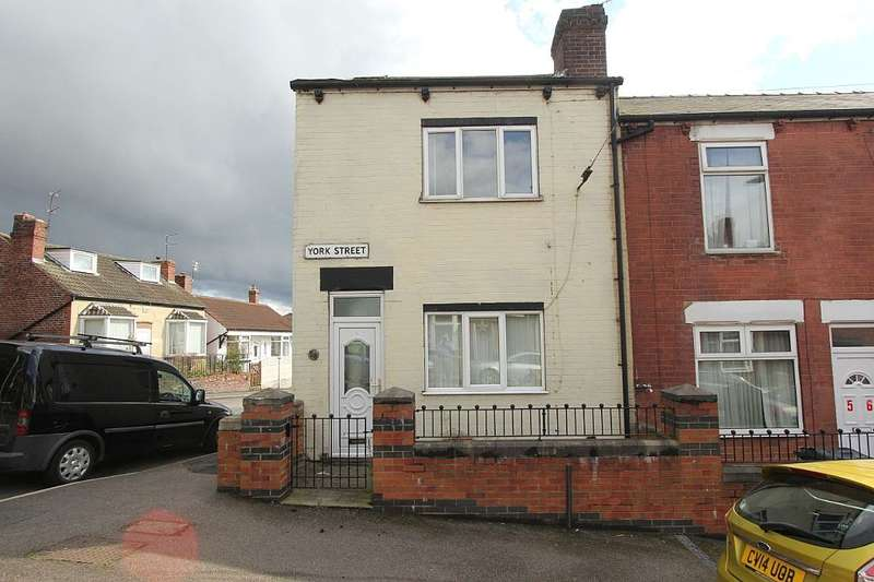 2 Bedrooms End Of Terrace House for sale in York Street, Mexborough, South Yorkshire, S64 9NP