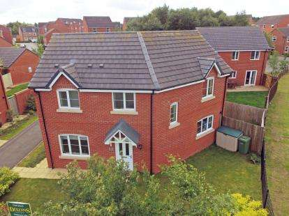 3 Bedrooms Detached House for sale in Colliers Way, Huntington, Cannock, Staffordshire